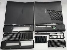 Matte Black Xbox 360 S Slim Console Replacement Case Shell Only **Complete**