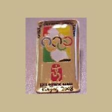 GUYANA NOC OLYMPIC PIN BEIJING OLYMPICS NEW