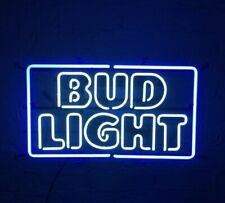 "New Bud Light Logo Bar Neon Light Sign 24""x20"""