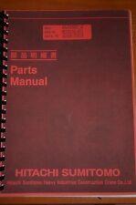 Hitachi Sumitomo SC1000-2 Parts Manual