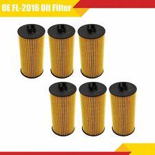 6PCS Oil Filter FL2016 For 6.0L & 6.4L Powerstroke Diesel Ford Engine F Series