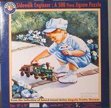 SIDEWALK ENGINEER - LIONEL - NEW - SUNSOUT PUZZLE