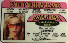 Shakira - Drivers License Novelty