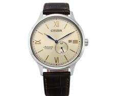 Citizen NJ0090-13P Automatic Leather Strap Men's Watch 42mm
