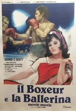 """FOLIE FOLIE (MOVIE MOVIE)"" Affiche originale italienne entoilée (Stanley DONEN)"