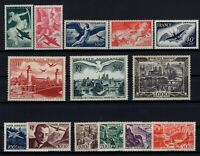 AX140796/ FRANCE / AIRMAIL / Y&T # 16 / 29 MINT MNH COMPLETE - CV 445 $