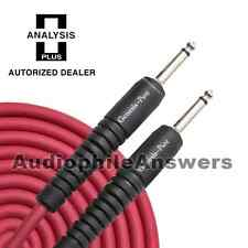 Analysis Plus Genesis Pure RED Instrument Cable Straight Standard Plugs 30ft
