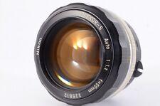 """"""" App Quasi Mint """" Nikon Nikkor S Auto 55mm F/1.2 Non Ai Mf Lente W/Filtro JP #"""