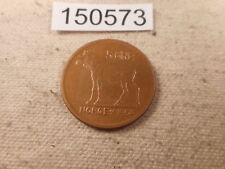 1964 Norway 5 Ore Cold War Era Higher Grade Coin - Raw -Moose Reverse - # 150573