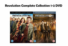 Revolution Complete Collection 1-2 DVD All Seasons 1 2 Original UK Rele R2 New