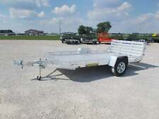 2021 Aluma 7712HBT 12' Aluminum ATV utility Trailer With Bi Fold Gate
