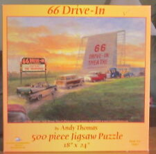 66 DRIVE IN BY ANDY THOMAS - Complete - SUNSOUT PUZZLE