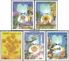 Libië 1734-1738 (compleet.Kwestie.) postfris MNH 1986 September Revolution