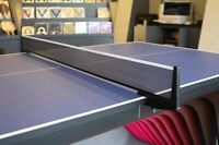 XIOM Table Tennis Competition Training Replacement Ping Pong Net w/Set Post_NU