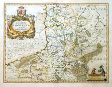 BELGIEN DUCATUS LIMBURGUM AUCTORE AEGIDIO MARTINI LÜTTICH WAPPEN BLAEU 1643