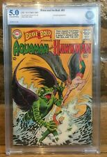 Brave and The Bold #51 Aqualad Appearance CBCS 5.0 Aquaman and Hawkman 1963