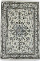 Hand Knotted Floral Nain 5'4X8'2 Traditional Oriental Wool Rug Home Decor Carpet