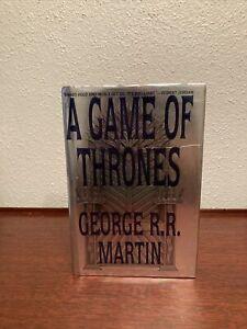 A Game of Thrones George R. R. Martin TRUE 1st Edition 1st Print US Edition HCDJ