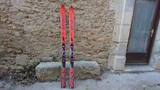 SKIS FREERIDE VINTAGE DYNASTAR BIG 190 + SALOMON DRIVER POUDREUSE POWDER OFPIST