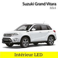 Kit ampoules à LED pour l'éclairage intérieur blanc Suzuki Vitara 4 LY