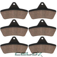 Front Rear Brake Pads For Arctic Cat 650 Auto Utility H1 4X4 2007 2008