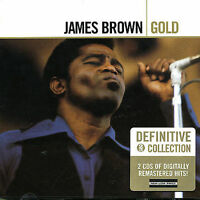 JAMES BROWN Gold 2CD BRAND NEW Best Of Greatest Hits Soul Funk