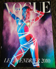 Vogue Paris calendar 2010 Natasha Poly Mario Sorrenti Corine Roitfeld Iselin