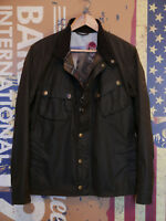 £249 rare Mens Barbour Steve McQueen 9665 olive waxed jacket M Medium 36 38