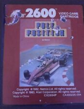 Pole Position (Namco CX2694P) Atari VCS 2600  (Modul - red label - good)