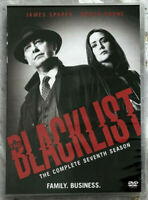 The Blacklist Season 7 (DVD 4-DISC) Brand New & Sealed Free First Class Shipping