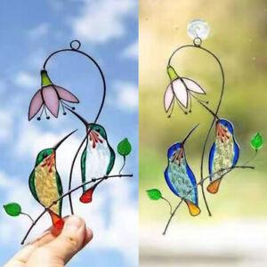 Metal Hanging Ornament Garden Decor Bird Craft Home Decoration Door And WindDD