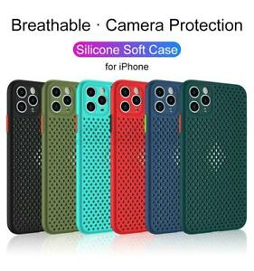Breathing Cooling Ventilation Case Cover For iPhone X 7 8 Plus Xs XR 11 Pro Max