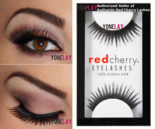 0a503fdfcd9 Lot 20 Pairs GENUINE RED CHERRY #47 Harper Lashes Human Hair False Eyelashes
