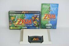 THE LEGEND OF ZELDA Triforce 4 Swords Game Boy Advance Nintendo gba