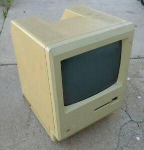Vintage Apple Macintosh Plus 512K M0001E Desktop Personal Computer & tote bag