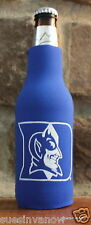 Duke Devils North Carolina Bottle Zipper Coolie Koozie College Football