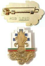 insigne de poitrine du 13°DBLE Légion Étrangère / Djibouti - faite par Y.DELSART