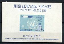 South Korea 1961 SG#MS389 Meteorological Day MNH M/S #A68663