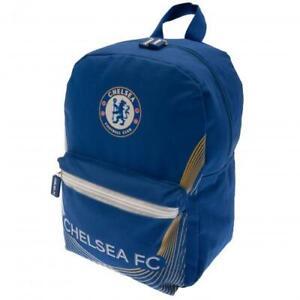 Chelsea FC Junior Backpack Rucksack School Bag Gymbag Holdall