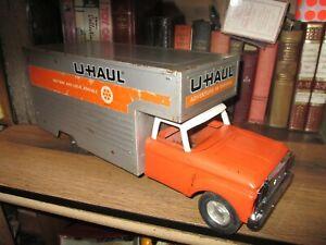 "Vintage 1960's Nylint Pressed Steel UHaul Moving Box toy Truck Large 19"" ...."