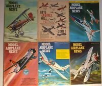 Model Airplane News Lot 1960s Various Years/Conditions  12 Magazines