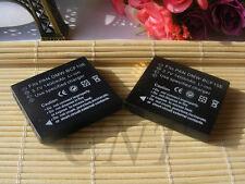 2pcs Camera Battery DMW-BCF10 for Panasonic Lumix DMC-TS4 DMC-FX700 DMC-FX65
