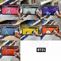 BTS BT21 Official Authentic Goods TP Cross Bag Medium 130x240mm + Tracking Num