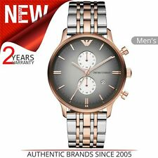 Emporio Armani AR1721 Rose Gold Men's Chronograph Watch
