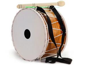 Orientalische 30 cm. Kinder DAVUL Dhol Drum Schlagzeug Davul 100% Handmade