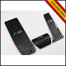 PEDALES  BMW M AUTOMATICO , X1 M3 E39 E46 E87 E84 E90 E91 E92 ,APOYAPIE  NEGRO