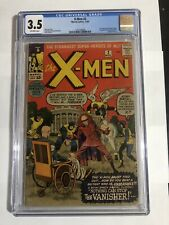 x-men 2 cgc 3.5 2nd appearance of the X-MEN first app Vanisher 1963