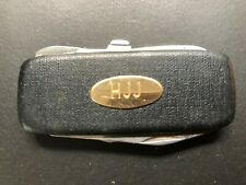 """MANICURE SET Old Vintage """"H J J"""" Folding Knife- Manicure Set. Made in JAPAN"""