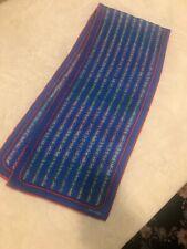 vintage scarf silk Xiix Karat 12x48�