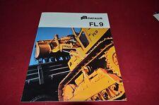 Fiat Allis Chalmers FL9 Crawler Loader Dealers Brochure DCPA3